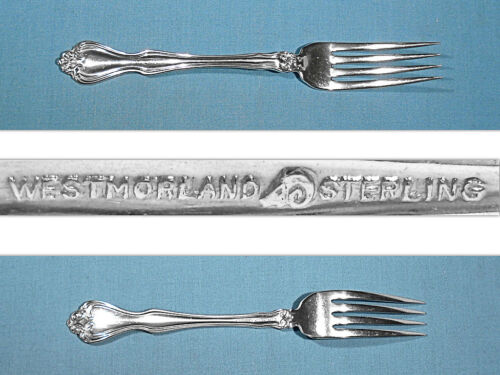 WESTMORLAND STERLING FORK(S) ~ GEORGE & MARTHA WASHINGTON ~ NO MONO