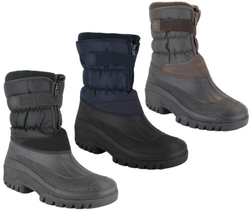 Mens GroundWork Muckers Mukker Stable Winter Snow Boots UK Sizes 7 to 11