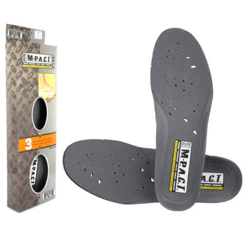 MAGNUM M-PACT SOCKLINER UNISEX MEMORY FOAM INSOLES FOOTBED SIZES UK 3 - 14