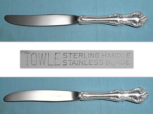 "TOWLE STERLING 9 1/2"" MODERN HOLLOW KNIFE(S) ~ DEBUSSY ~ NO MONO"