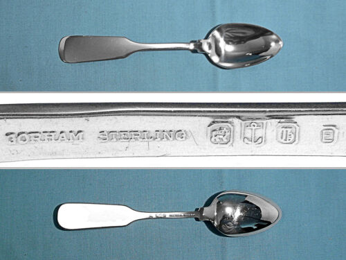 GORHAM STERLING EXTRA WEIGHT TEASPOON(S) ~ OLD ENGLIST TIPT ~ NO MONO
