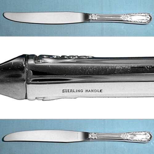 STATE HOUSE STERLING MODERN HOLLOW KNIFE(S) ~ INAUGURAL ~ NO MONO