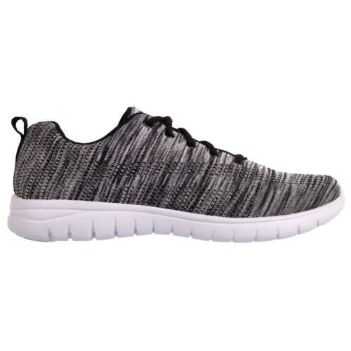 cheap for discount 09377 de723 Fabric Mens Flyer Runner Sport Shoes Laced Fastening Running Run Trainers