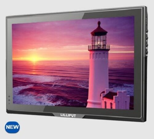 """LILLIPUT 10.1"""" FA1014-NP/C IPS HDMI VGA DVI monitor with DSLR or Security system"""
