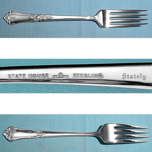 STATE HOUSE STERLING FORK(S) ~ STATELY ~ NO MONO