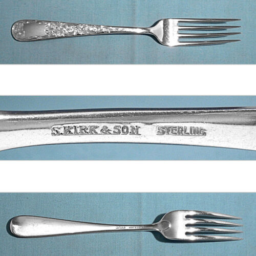 S KIRK & SON STERLING FORK(S) ~ OLD MARYLAND ENGRAVED ~ NO MONO