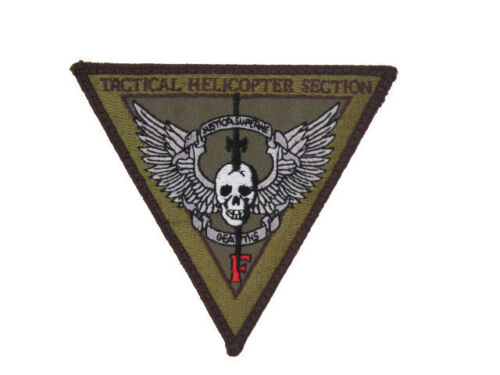 FBI DEA CIA Black Ops Helicopter Raid Drug Enforcement Army Aviation Patch NewReproductions - 156470