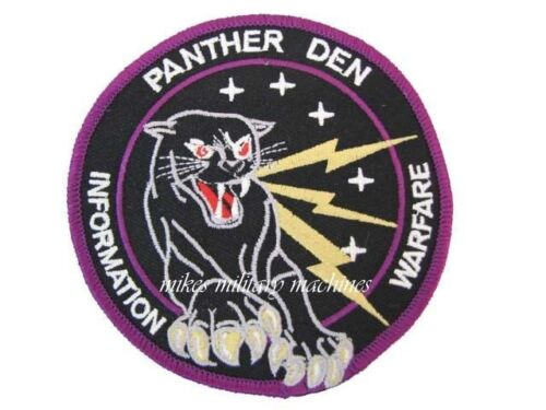 USAF Air Force Military Black Ops Area 51 Electronic Warfare Panther Den PatchAir Force - 66528