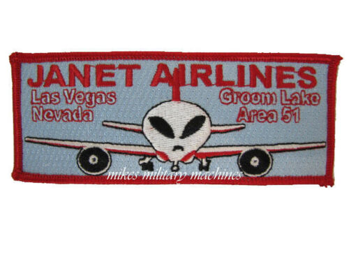 USAF Black Ops Special Projects Division Area 51 Janet Airlines 737 Patch NewAir Force - 66528