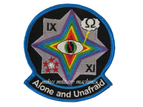 USAF UAV CIA Air Force Area 51 Black Ops Alone And Unafraid Desert Prowler PatchAir Force - 66528