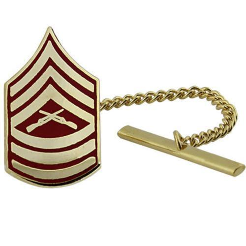 USMC Marine Corps Tie Tack Tie Tac MSGT Master Sergeant    NEW (Made in USA)Marine Corps - 66531