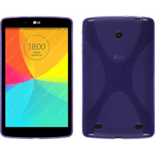 Silicone Case for LG G Pad 8.0 X-Style purple Cover