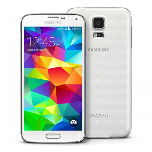 New Samsung Galaxy S5 G900a AT&T Unlocked 4g GSM SmartPhone 16GB Android White