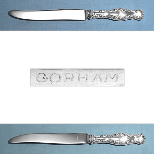 GORHAM STERLING NEW FRENCH HOLLOW KNIFE(S) ~ LOUIS XV ~ NO MONO