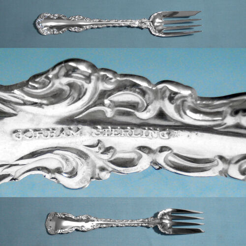 GORHAM STERLING SALAD FORK(S) ~ LOUIS XV ~ NO MONO