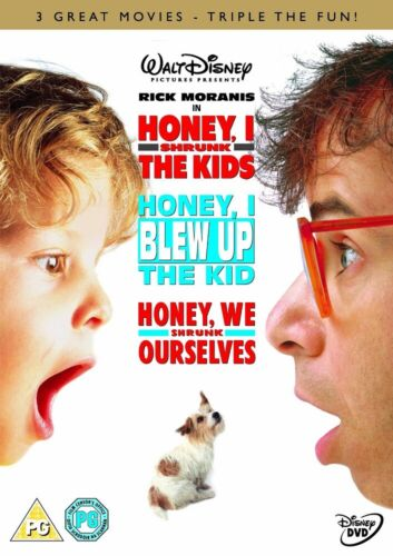 Honey I Shrunk the Kids+ Blew up Kids+ Shrunk ourselves New DVDR4