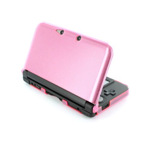Hard case for 3DS XL 2012 Nintendo protective shell - Glitter Pink   ZedLabz