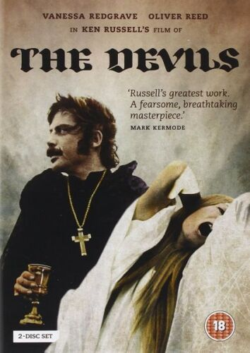 The Devils (Ken Russell Oliver Reed Vanessa Redgrave) Region 2 DVD New