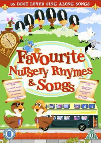 Favourite Nursery Rhymes and Songs Region 4 DVD New