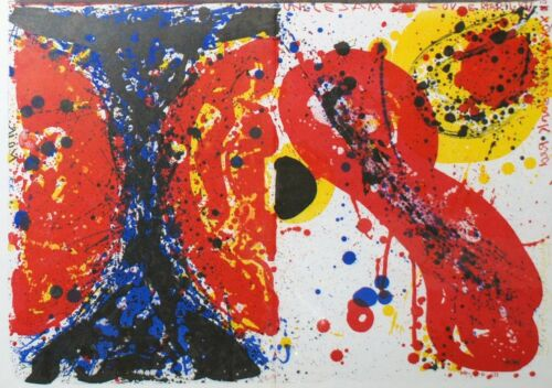 Sam Francis Lithographs, 1¢ Life and Uncle Sam Loves Marilyn