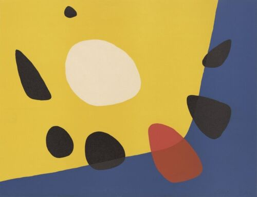 Untitled, 1963 by Alexander Calder Art Print Abstract Poster 11x14