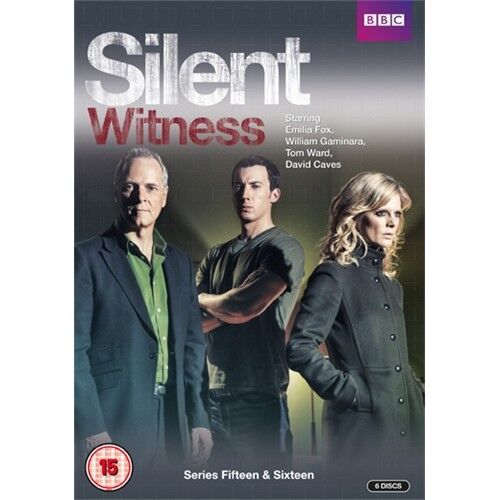 Silent Witness Complete Series Season 15 + 16 New 6xDVD Region 4
