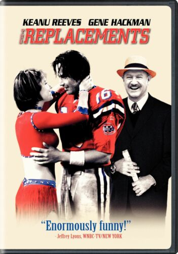 The Replacements (Keanu Reeves, Gene Hackman) New DVD Region 1