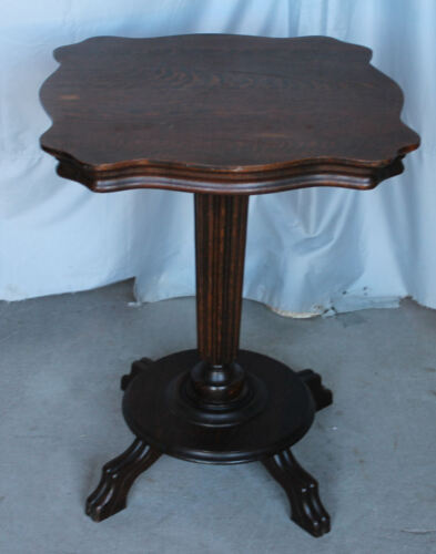 Antique Oak Lamp or Small end type Table