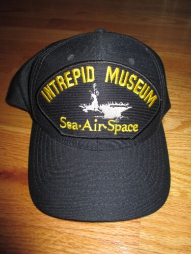 INTREPID Aircraft Carrier MUSEUM Sea-Air-Space (Adjustable Snap Back) CapReproductions - 156452