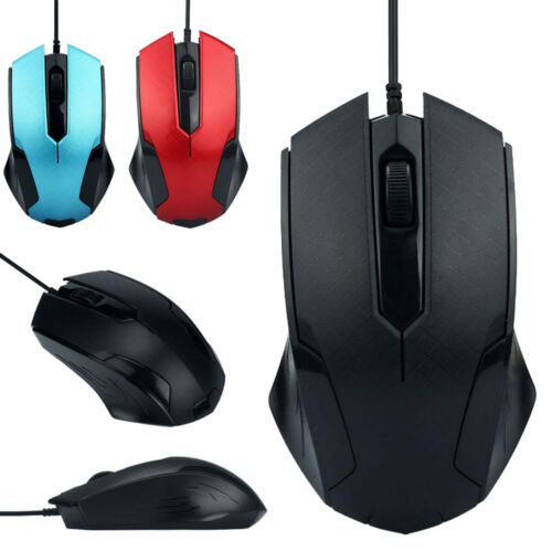 1200DPI USB Wired Optical Gaming Mice Mouse For PC Laptop