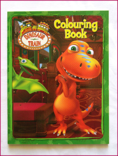 DINOSAUR TRAIN - COLOURING Colour-in - Awesome 24pg BOOK - NEW - ABC Kids - NEW
