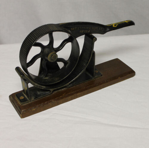 Enterprise Mfg. Company Cast Iron Cork Press – No. 2