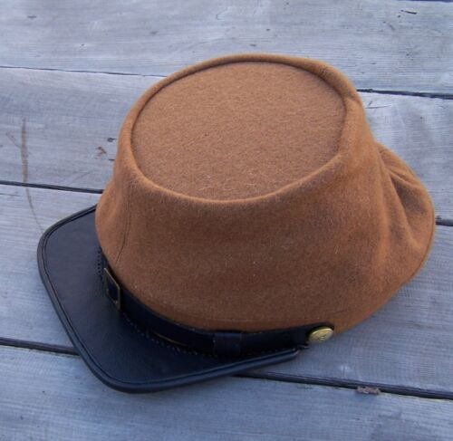 civil war reenactor CSA confederate butternut kepi  SmallUniforms - 36041