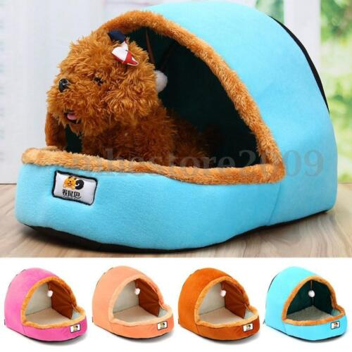 Soft Pet Dog Cat Bed Cushion Puppy House Warm Basket Toy Ball Kennel Mat Blanket
