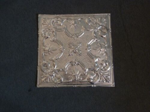 24-17    10  2' x 2' Tin Plated Steel Sheets. Victorian Design Tin Ceilings WoW!