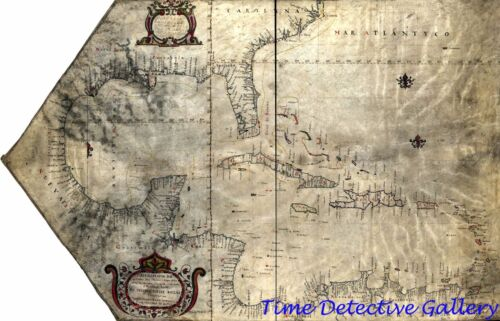 Colonial Era Map of the British West Indies - 1765 - Poster in 5 Sizes
