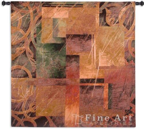 Visual Patterns II Contemporary Modern Wall Tapestry