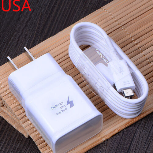 Original Fast Charger Travel Adapter Cable For Samsung Galaxy Note 4/5 S6/7 Edge