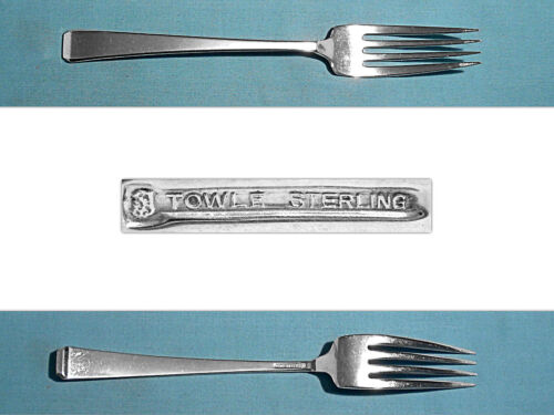 "TOWLE STERLING 8 1/8"" FORK(S) ~ CRAFTSMAN ~ NO MONO"