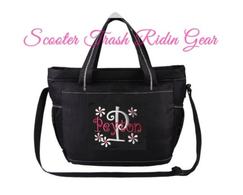 DIAPER BAG personalized baby tote Black monogrammed NEW - MORE DESIGNS mililtary