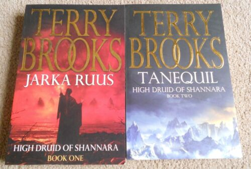 Terry Brooks - High Druid Of Shannara - Jarka Ruus + Tanequil - Books 1 & 2 - SC