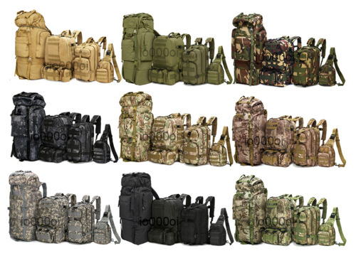8L10L30L55L80L Outdoor Military Tactical Camping Hiking Trekking Backpack