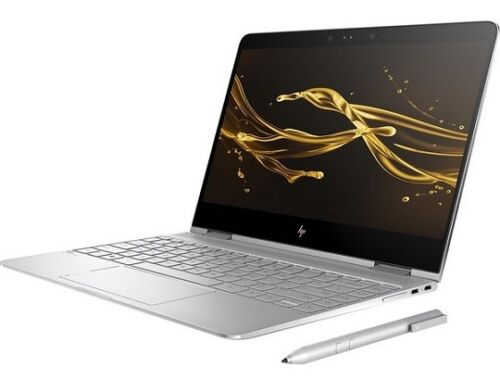 "HP Spectre X360 13-AC075NR Laptop Intel i7-7500U 256GB SSD 13.3"" Touch"
