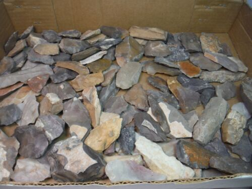 LOT OF 100 ANCIENT STONE ARTIFACTS FROM MOROCCO AFRICA ARTIFACT