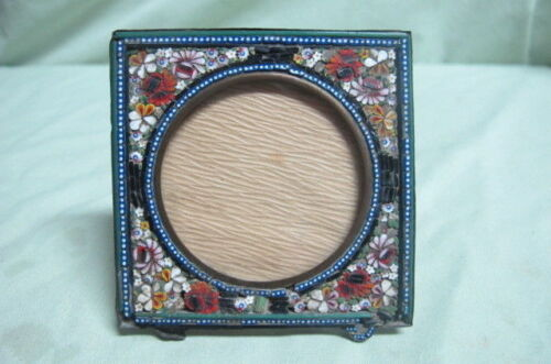 Antique Mosaic table Picture Frame #3