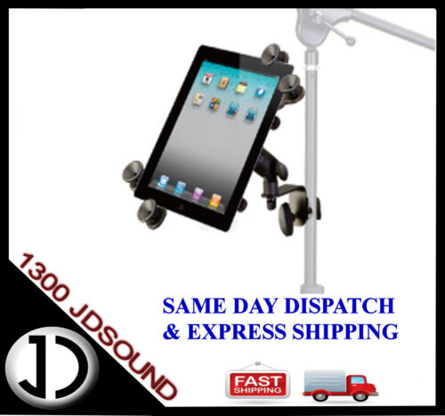 Universal iPad PRO LARGE tablet holder for tripod/universal stand