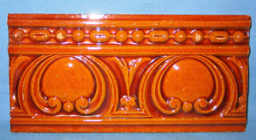 """Antique Tile Mensaque Rodriguez Sevilla Made in Spain 11"""" by 5 1/2"""""""