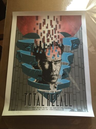 Timothy Doyle Total Recall AP Print Signed 18 x 24 Inches Sold Out Rare