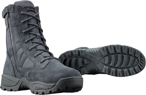 """Smith & Wesson Breach 2.0 Waterproof 9"""" Side Zip Tactical Boots, Gunmetal Grey"""