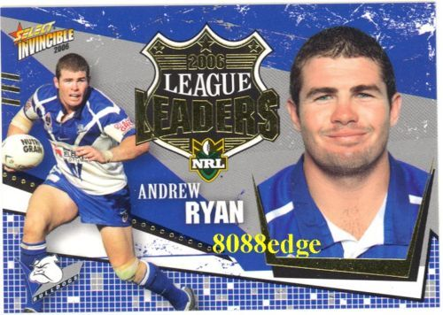 2006 Select Nrl League Leaders Redemption: Andrew Ryan #164 Bulldogs